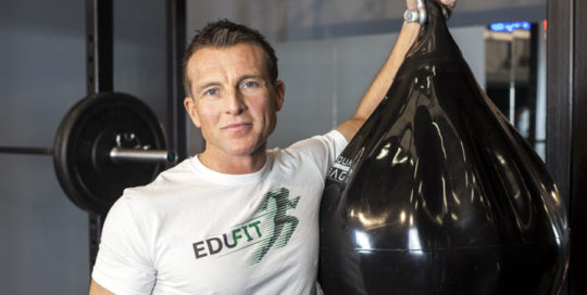 Trainer Anthony Lynch at BodyHoliday September 2019
